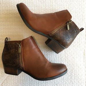 Western Boho Ankle Booties